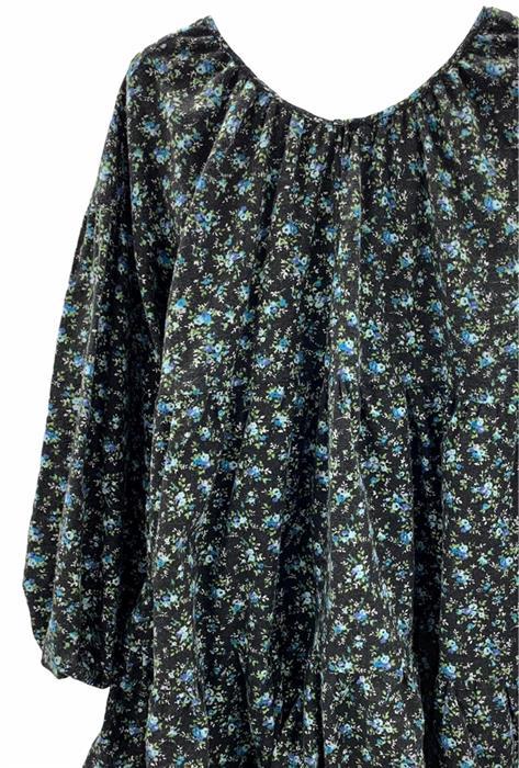 Платье, IZ (ярусное, цв.принт) - фото 12086