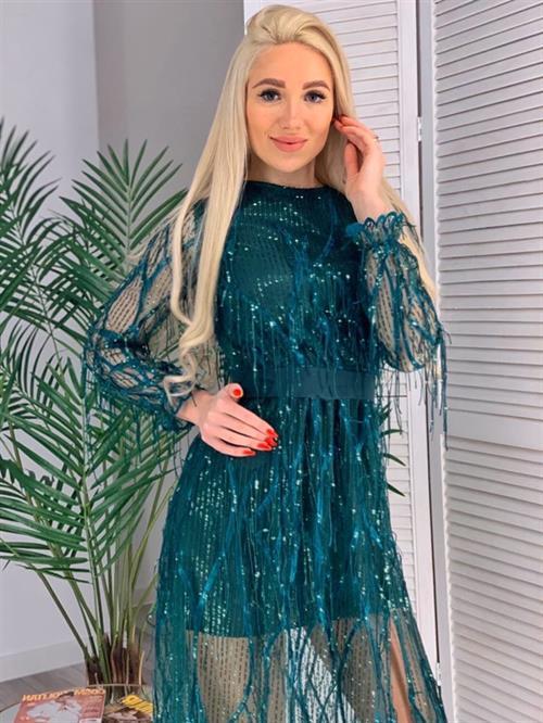 Платье, BS (пайетки-дождик) - фото 12141