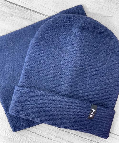 Комплект Deluxe (шапка+снуд) - фото 12604