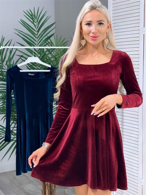 Платье, DI (бархат,мини) - фото 14785