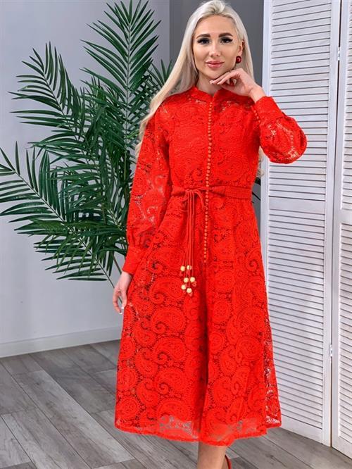 Платье, BU (кружево,миди) - фото 16003