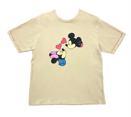 "Футболка, ""Mickey kiss 1"" - фото 18489"