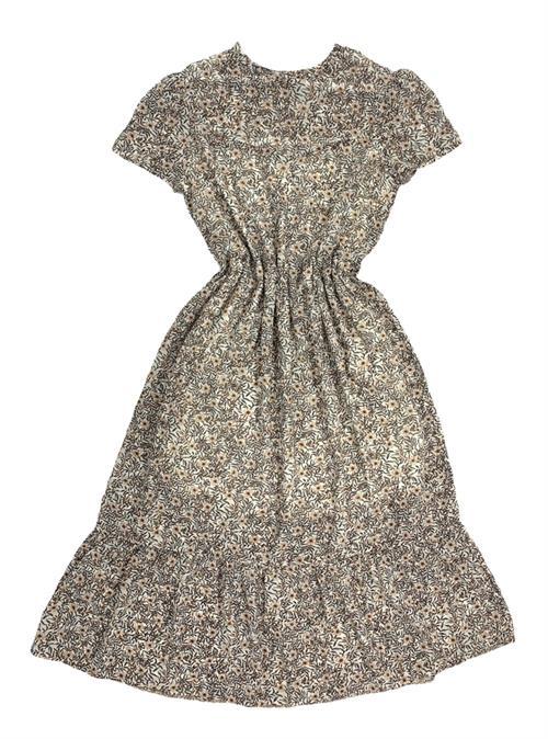 Платье, NR 069 (миди, листья) - фото 20882