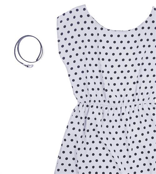 Платье, CL 207 (горох) - фото 20899