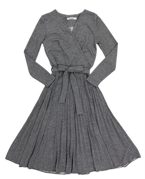 Платье, EI (плиссе, гус.лапка) - фото 21052