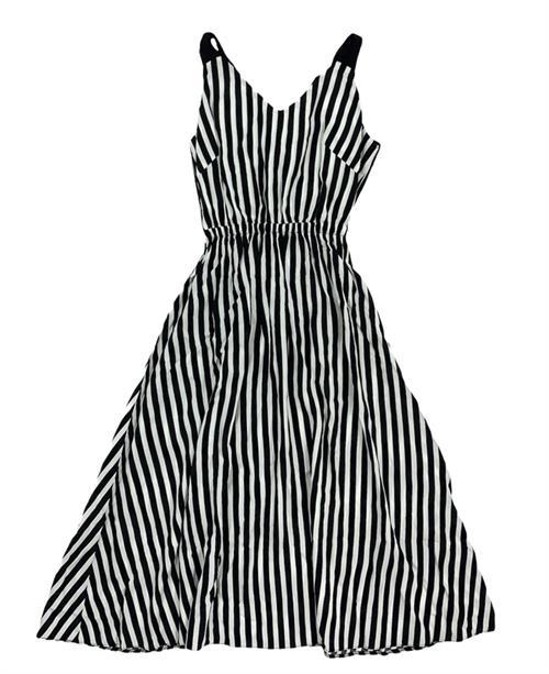 Платье, (черн.бретельки, полоска) - фото 22168