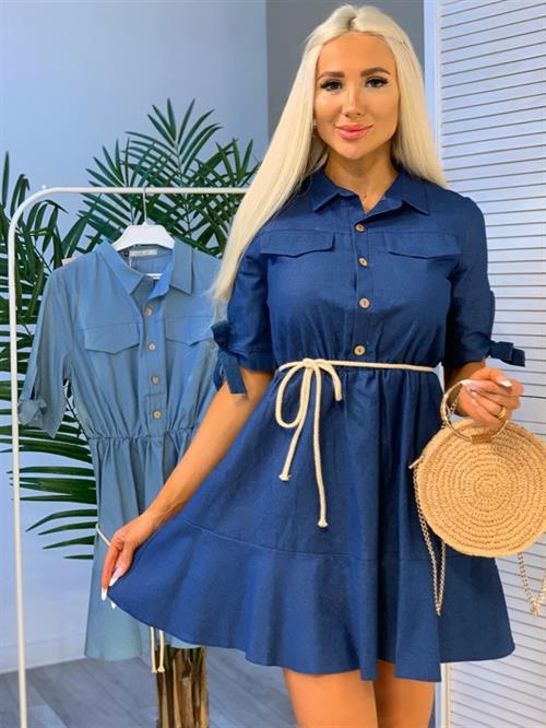 Платье, FN (джинса) - фото 28120