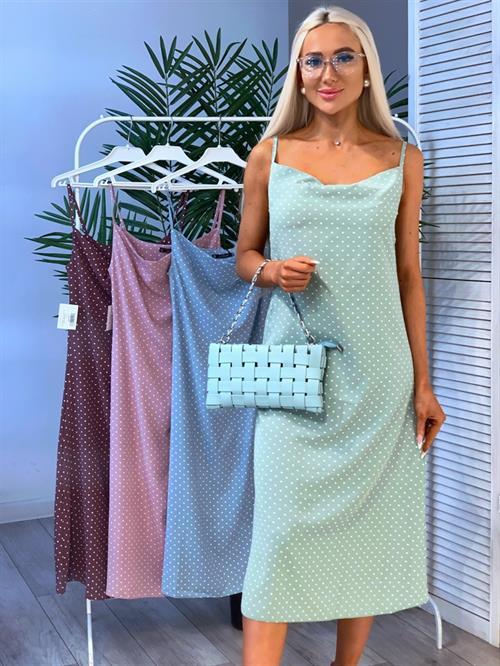 Платье, FN (горох, бретельки) - фото 28467