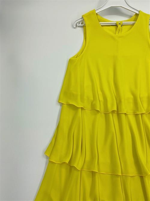 Платье, NR (волан, однотон) - фото 5747