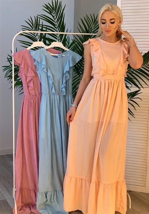 Платье, SL 406 (полоска) - фото 5989