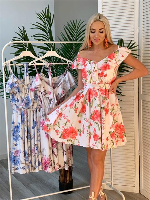 Платье, FN цветы (откр. плечи) - фото 6149