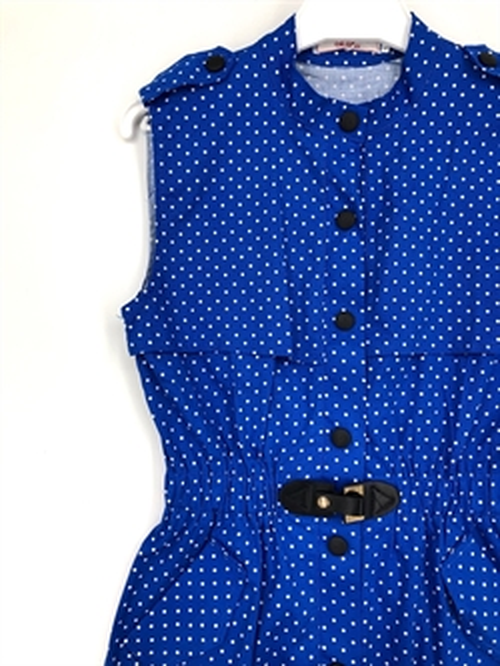 Платье в стиле сафари, (м.горох) - фото 6311