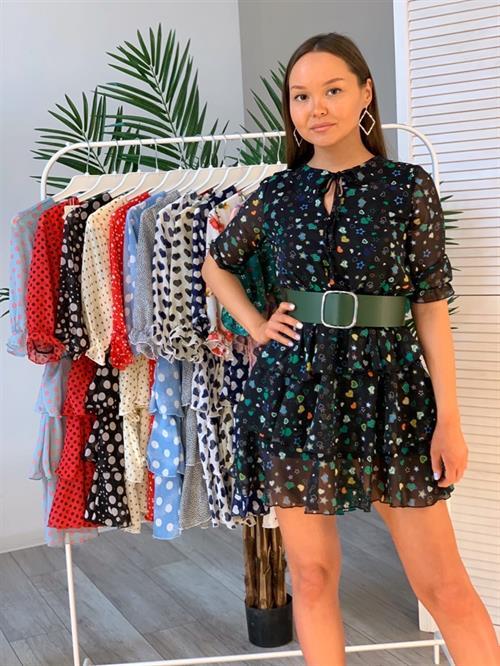 Платье, FN 4001 (принт) - фото 7235