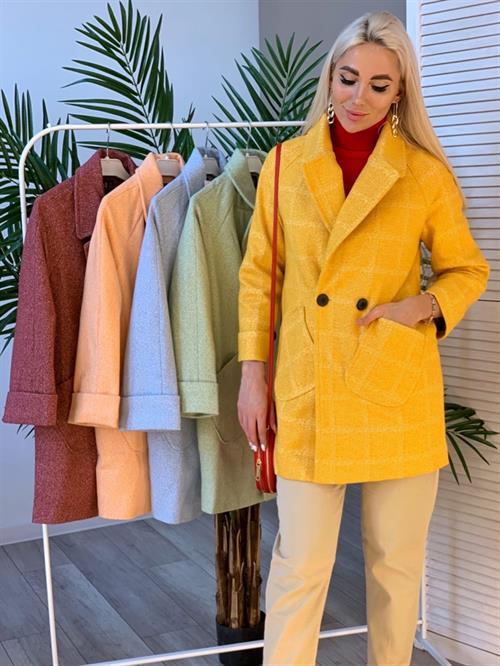 Пальто-пиджак, Hazal 02 (крапинка) - фото 7283