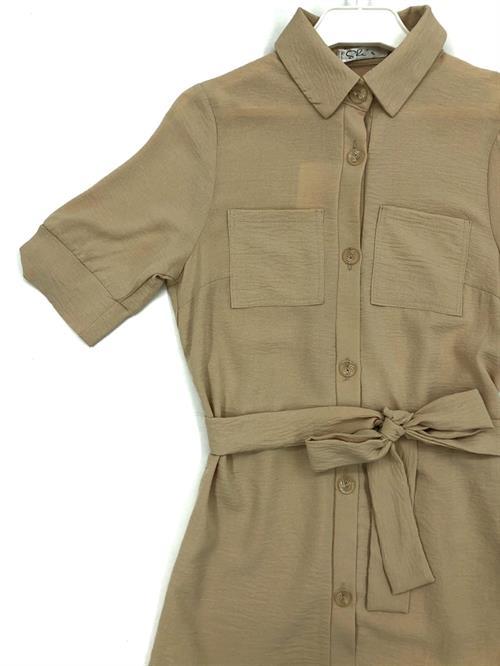 Платье-рубашка, She`s (однотон) - фото 7765