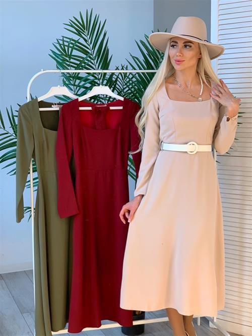 Платье, BS (кв.вырез,миди) - фото 9084