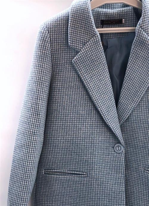 Пальто-пиджак, 119 (гусиная лапка) - фото 9398