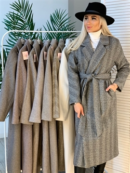Пальто, BS 1001 (елочка) - фото 9852
