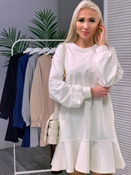 Платье, DN (tg,волан)