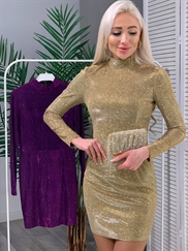 Платье, ISAY (блеск, стойка)