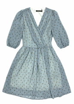 Платье, Romantic (цв.принт, zp)