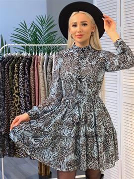 Платье, PN (stk,pg,принт)