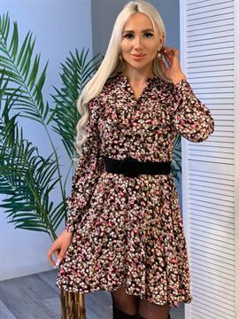Платье, N&Y 7229 (цв.принт,мини)