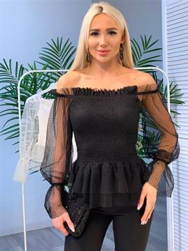 Блуза, FR 201946 (открытые плечи)