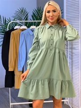 Платье, KD 7409 (ярусное)