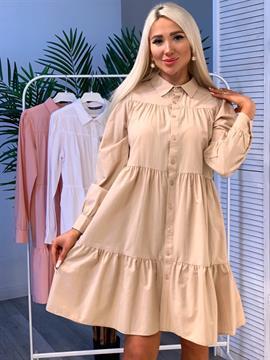 Платье, KD 7408 (pg,ярусное)
