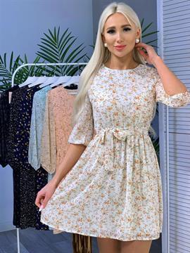 Платье, FN (фонарик, цв. принт)