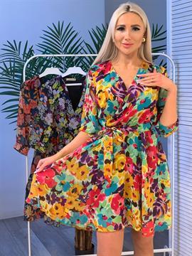 Платье, Rayana (шифон,цв.принт)