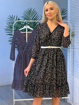 Платье, VS (zp,цв.принт,шифон)