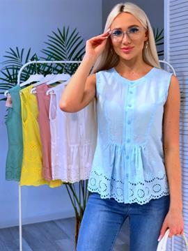 Блуза, RC (х/б,вышивка)