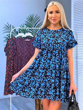 Платье, WK 7712 (цв.принт)