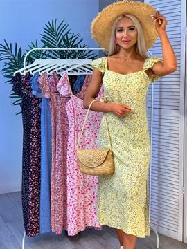 Платье, MJ 0424 (принт)