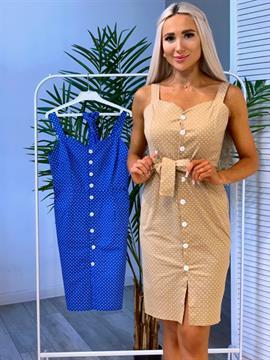 Платье, CS 077 (м. горох)