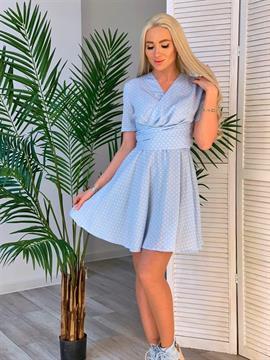 Платье, ELLEI (завязки,горох)